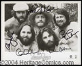 Autographs, The Beach Boys Group Signed Photograph