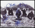 Autographs, Blind Melon Group Signed Photo w/Hoon