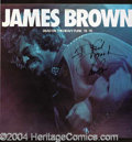 Autographs, James Brown Nice Signed Album
