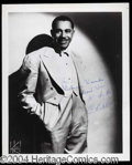 Autographs, Cab Calloway Signed 8 x 10 Photograph