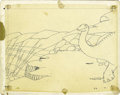 Animation Art:Production Drawing, Winsor McCay - Gertie the Dinosaur Animation Drawing Original Art(1914). ...