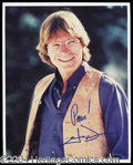 Autographs, John Denver Signed 8 x 10 Photograph