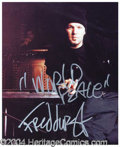 Autographs, Fred Durst Signed 8 x 10 Photograph