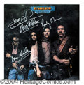 Autographs, The Eagles Group Signed Desperado Album