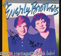 Autographs, The Everly Brothers Signed Album