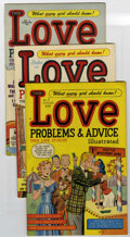 Golden Age (1938-1955):Romance, True Love Problems and Advice Illustrated #3-10 File Copy Group (Harvey, 1949-51) Condition: Average VF/NM.... (Total: 8 Comic Books)