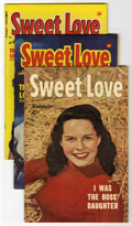 Golden Age (1938-1955):Romance, Sweet Love #2-5 File Copy Group (Harvey, 1949-50) Condition:Average VF.... (Total: 4 Comic Books)