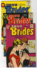Golden Age (1938-1955):Romance, True Brides' Experiences #12-16 File Copy Group (Harvey, 1955-56)Condition: Average VF/NM.... (Total: 5 Comic Books)