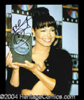 Autographs, Janet Jackson Signed 8 x 10 Photo