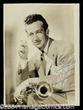 Autographs, Harry James Vintage Signed Photograph