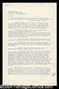 Autographs, Peggy Lee Signed Contract Agreement