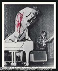 Autographs, Jerry Lee Lewis Great Signed 8 x 10 Photo