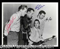 Autographs, Million Dollar Quartet Signed Photo Cash