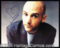Autographs, Moby Signed 8 x 10 Photograph