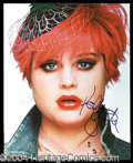 Autographs, Kelly Osbourne Signed 8 x 10 Photo