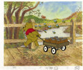 Animation Art:Production Cel, Winnie-the-Pooh Animation Production Cel Original Art (Disney,undated). ...