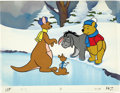 animation art:Production Drawing, Winnie-the-Pooh Illustration Original Art (Disney, undated). ...