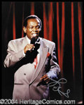 Autographs, Lou Rawls Signed 8 x 10 Photograph