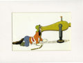 "Animation Art:Production Cel, ""The Whalers"" Goofy Animation Production Cel Original Art (Disney, 1938). ..."