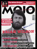 Autographs, Brian Wilson Signed Magazine Beach Boys
