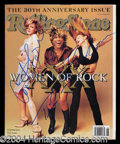 Autographs, Madonna Tina & Courtney Love Signed Magazine