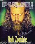 Autographs, Rob Zombie Signed Promo Poster