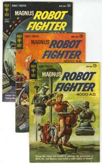 Magnus Robot Fighter Group (Gold Key, 1963-67) Condition: Average VG+.... (Total: 17 Comic Books)