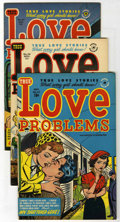 Golden Age (1938-1955):Romance, True Love Problems and Advice Illustrated - File Copy Group (Harvey, 1953-56) Condition: Average VF/NM.... (Total: 13 Comic Books)
