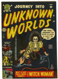 Golden Age (1938-1955):Horror, Journey Into Unknown Worlds #13 (Atlas, 1952) Condition: FN-....