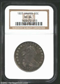Early Half Dollars: , 1807 50C Draped Bust MS64 NGC. ...