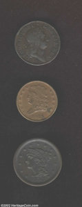 Colonials: , 1723 1/2P Hibernia Halfpenny VF30 Uncertified, Breen-157, ...