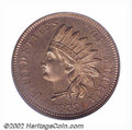 Proof Indian Cents: , 1859 1C PR65 PCGS. A second offering of this rare and ...