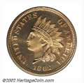 Proof Indian Cents: , 1862 1C PR67 Cameo PCGS. A second, and even finer Cameo ...