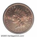 Proof Indian Cents: , 1885 1C PR66 Red PCGS. While many proof 1885 Cents ...