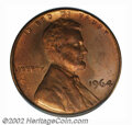 SMS Lincoln Cents: , 1964 1C SMS MS64 Red and Brown PCGS. These mysterious ...