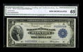 Fr. 708 $1 1918 Federal Reserve Bank Note CGA Gem Uncirculated 65. This fancy serial numbered ace is the four millionth...