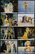 "Movie Posters:Adventure, The Vengeance of She (20th Century Fox, 1968). Lobby Card Set of 8(11"" X 14""). Fantasy Adventure. Starring John Richardson,...(Total: 8 Items)"
