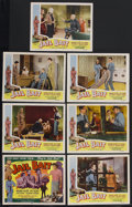 "Movie Posters:Film Noir, Jail Bait (Howco, 1954). Lobby Cards (7) (11"" X 14""). Film Noir. Starring Dolores Fuller, Lyle Talbot, Steve Reeves and Theo... (Total: 7 Items)"