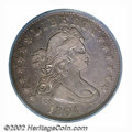 Early Quarters: , 1804 25C VF30 PCGS. B-1, High R.3. While not a one-year ...