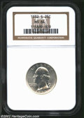 Washington Quarters: , 1932-S 25C MS64 NGC. A flashy and brilliant near-Gem with ...