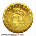 Proof Gold Dollars: , 1883 $1 PR63 Cameo NGC. Proof Gold Dollar production at ...