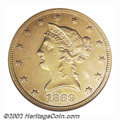 Liberty Eagles: , 1869 $10--Scratched, Cleaned--ANACS. AU Details, Net XF40....