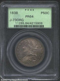 Patterns: , 1838 Half Dollar, Judd-73 Original ?, Pollock-77, R.7, ...