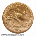 Commemorative Gold: , 1915-S $2 1/2 Panama-Pacific Quarter Eagle MS65 NGC. With ...