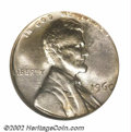 Errors: , 1960 1C Large Date Cent--On a Liberia 10C Planchet--MS62 ...
