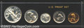 Proof Sets: , 1941 Proof Set Uncertified. The set grades PR62-64, the ...
