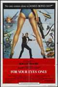 "Movie Posters:James Bond, For Your Eyes Only (United Artists, 1981). International One Sheet(27"" X 41""). James Bond...."