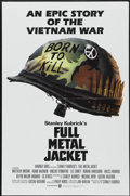 "Movie Posters:War, Full Metal Jacket (Warner Brothers, 1987). One Sheet (27"" X 41"").War...."
