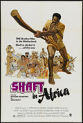 "Movie Posters:Blaxploitation, Shaft in Africa (MGM, 1973). One Sheet (27"" X 41"").Blaxploitation...."