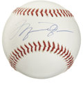 Autographs:Baseballs, Michael Jordan Single Signed Baseball. Exceptional rarity that weprovide here places Michael Jordan's highly desirable sig...